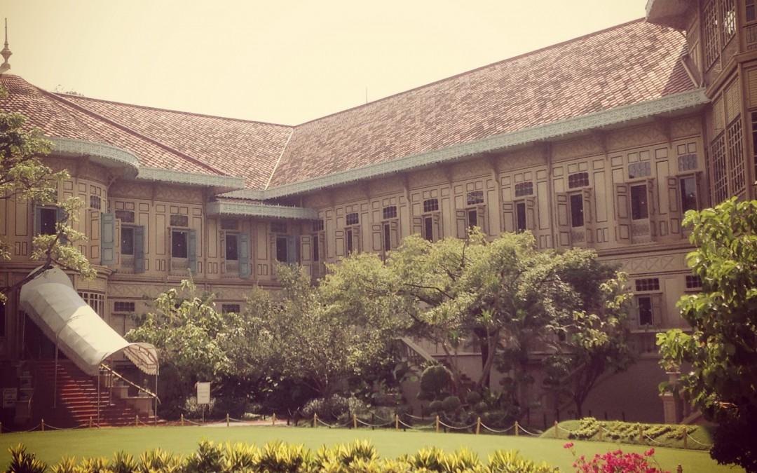 Vimanmek Palace, entirely of teak