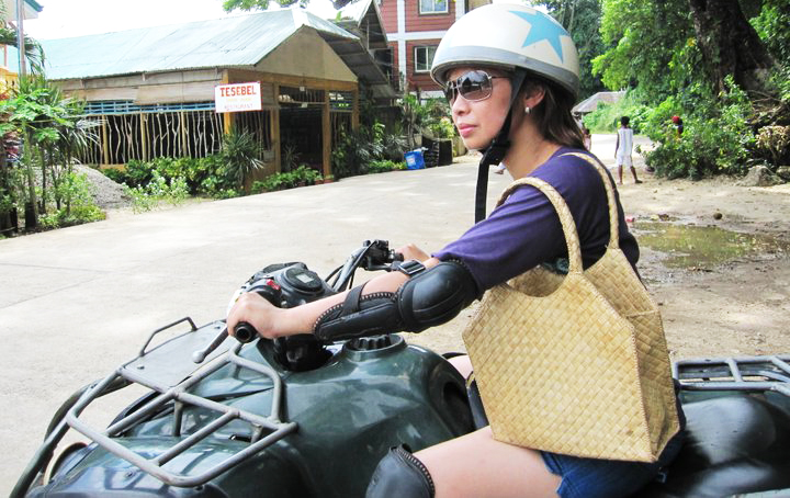 Quad biking in Boracay