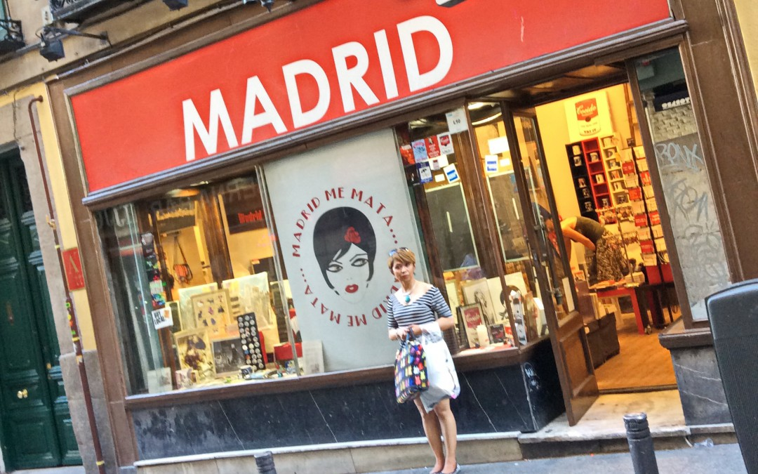 """Madrid smells like Manila, mama"""