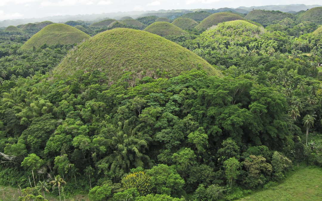 On chocolate hills
