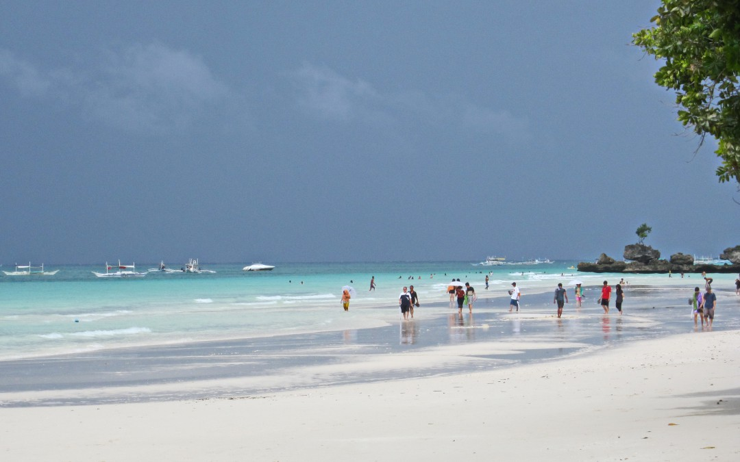 The White Beach of Boracay