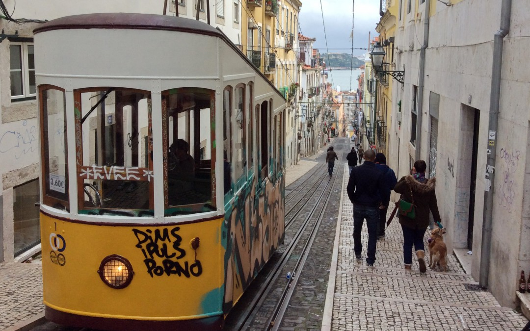 Funiculars of Lisbon