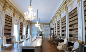 The queen Lovisa Ulrika collected many things and she stored them in her library.