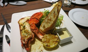 I ate lobster twice - for dinner and for lunch. The dish tasted better in the evening.
