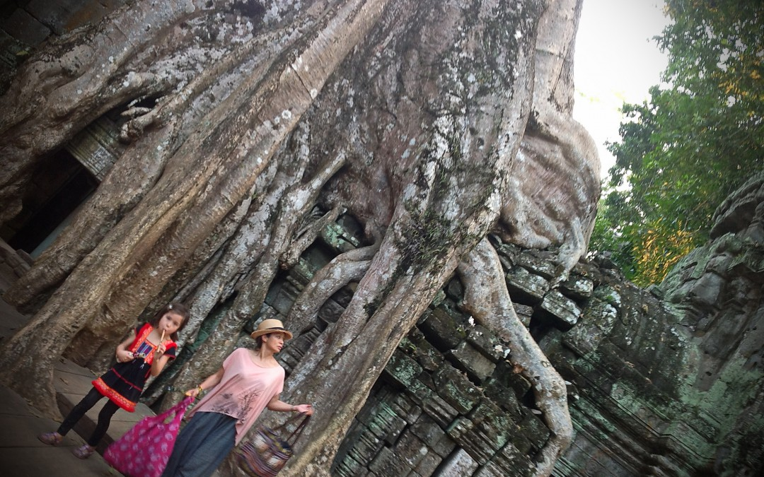 Ta Phrom, temple in the jungle