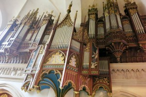 The organ from the late 1800's has 65 parts.