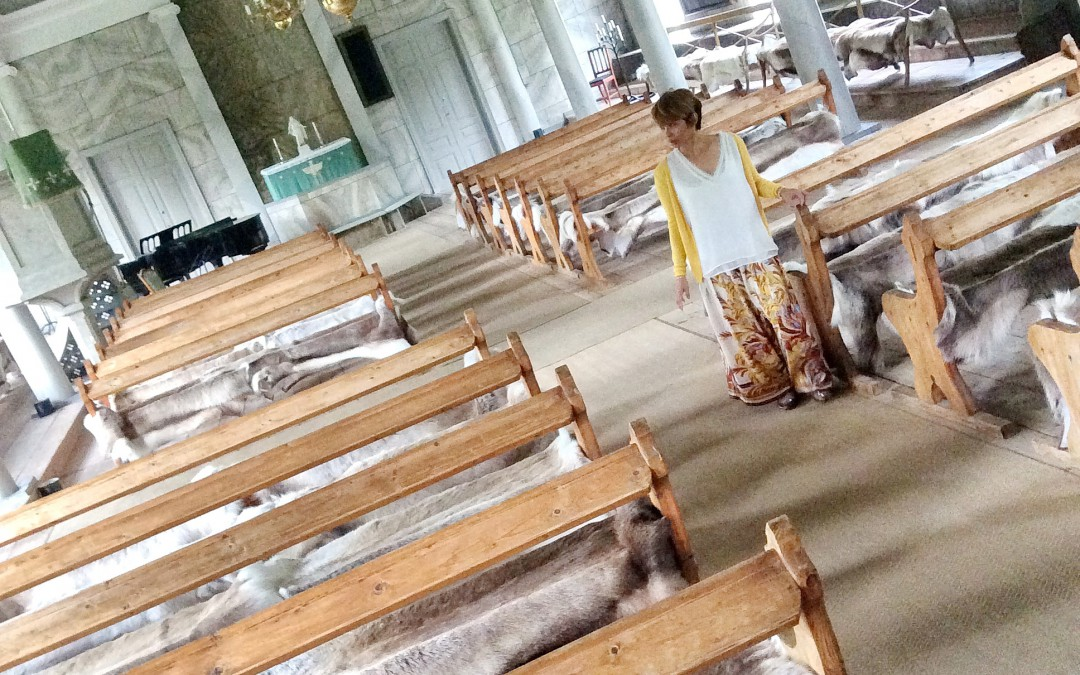 Furry church at Loka Brunn