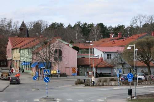 Tiny Sigtuna city, with a population of over 8000 in 2010. It was once the smallest town in Sweden, besides being the oldest.