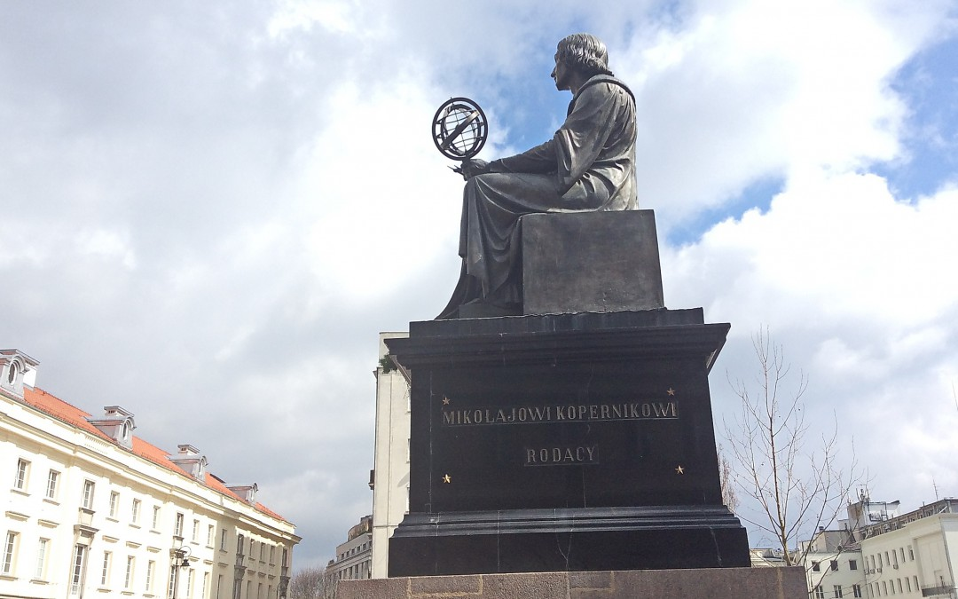 Religion once scorned Copernicus