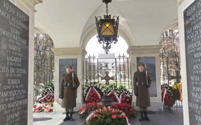 Visited the unknown soldiers