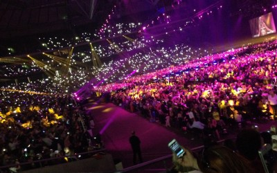 Melodifestivalen for the first time