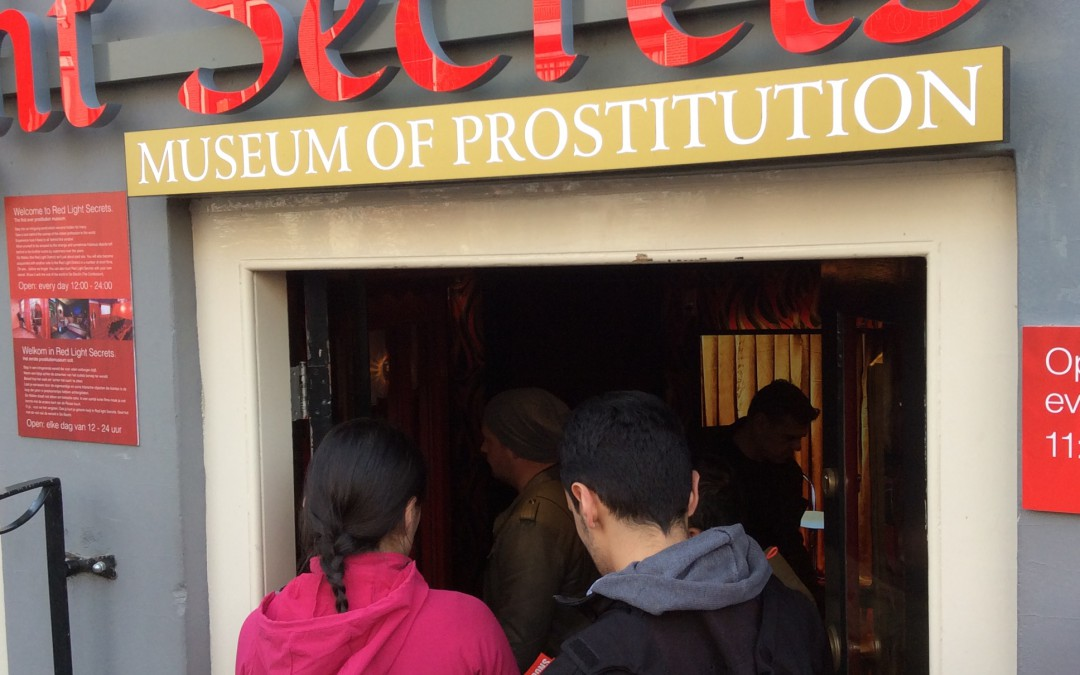 Intriguing red light district