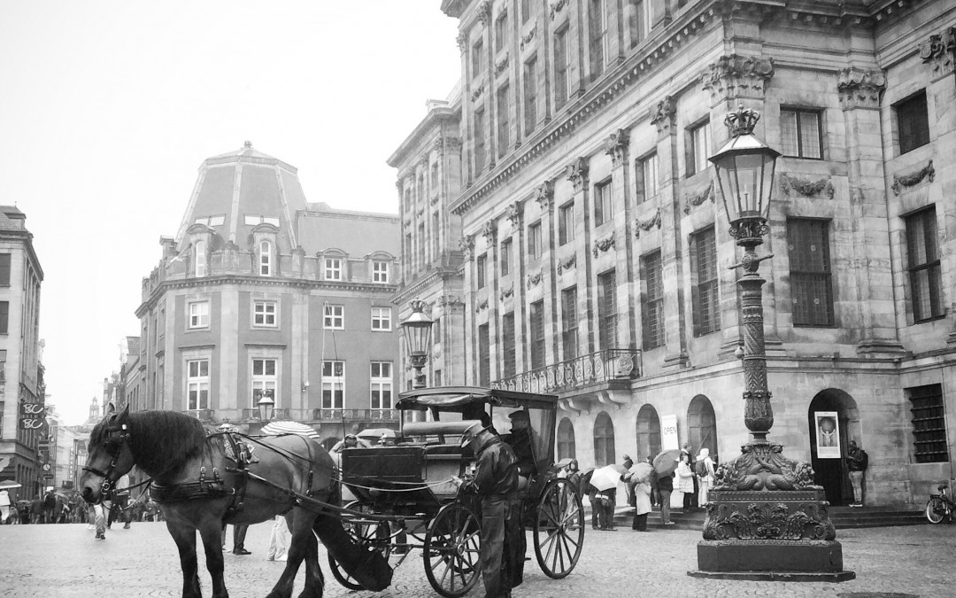 Royal Palace in Amsterdam