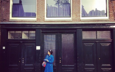 Endless queue to Anne Frank's house